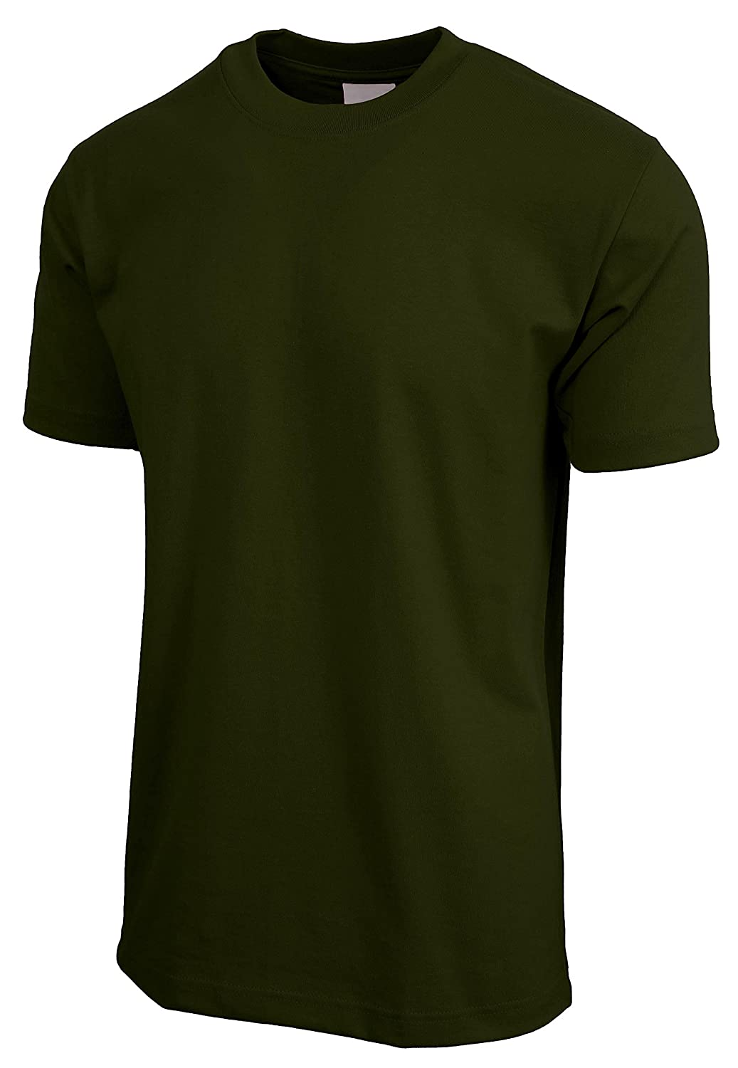 Hat and Beyond KS Mens Super Max Heavyweight Cotton T Shirt Solid Short Sleeve Tee S-5XL