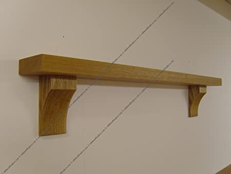 Amazon uk oak mantel shelf
