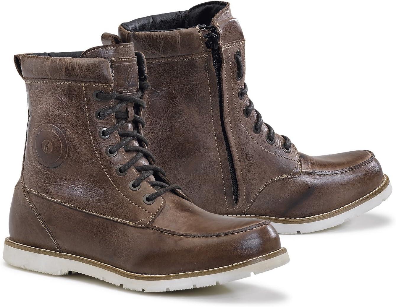 Marron Forma FORU08W-2447 Chaussure Moto Naxos WP Homologu/ée CE Taille 47