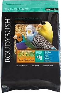 RoudyBush Daily Maintenance, Nibbles Bird Food, 25-Pound