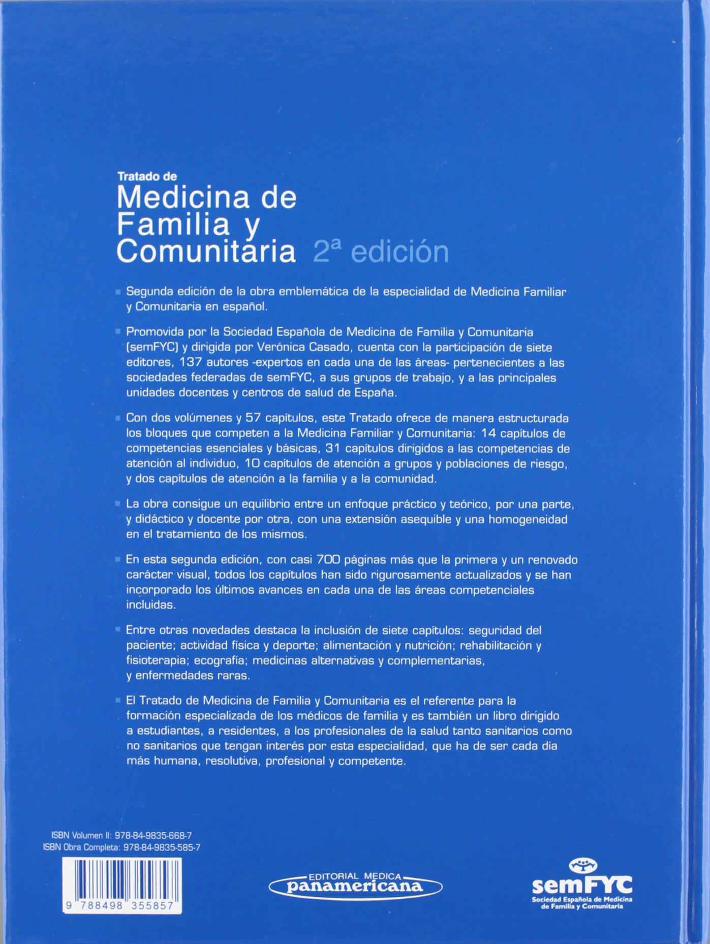 SEMFYC:Trat.Medic.Famil.Comunit.2aEd-2T: Amazon.es: Sociedad Española de Medicina de Familia y Comunitaria: Libros