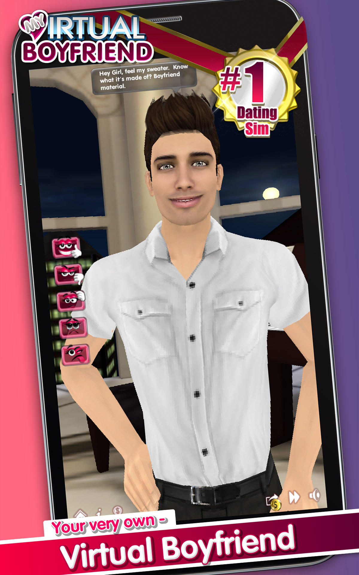 Amazon.com: My Virtual Boyfriend Free: Appstore for Android