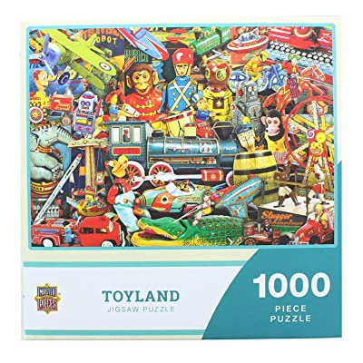 Toyland 1000 Piece Puzzle: Toys & Games