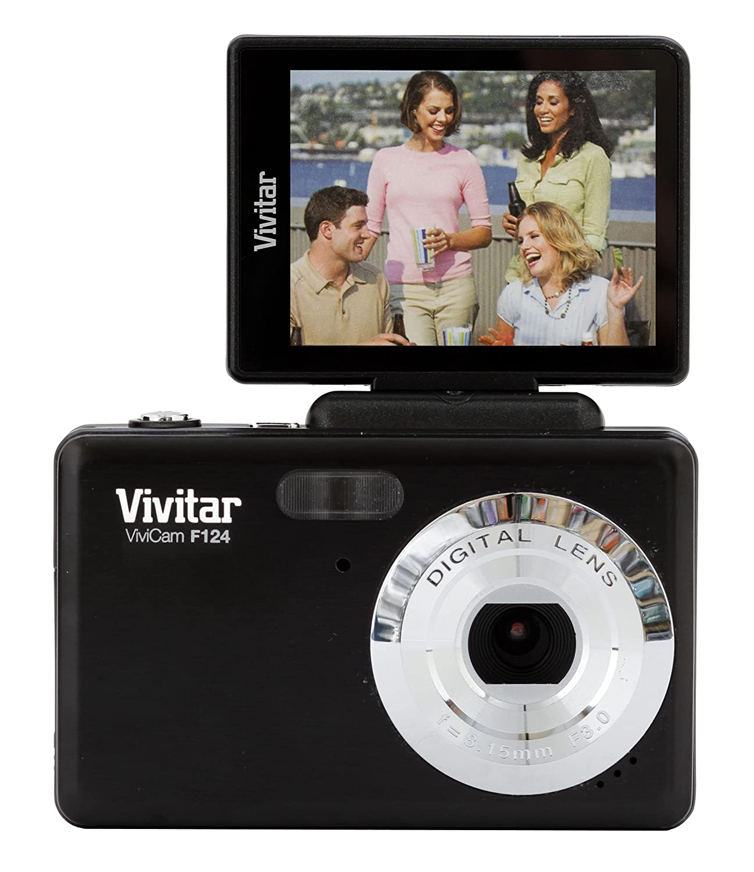 Sakar VF124-RED Vivitar 14 Mp Digital Camera with Flip Screen, Red Sakar Toys CA