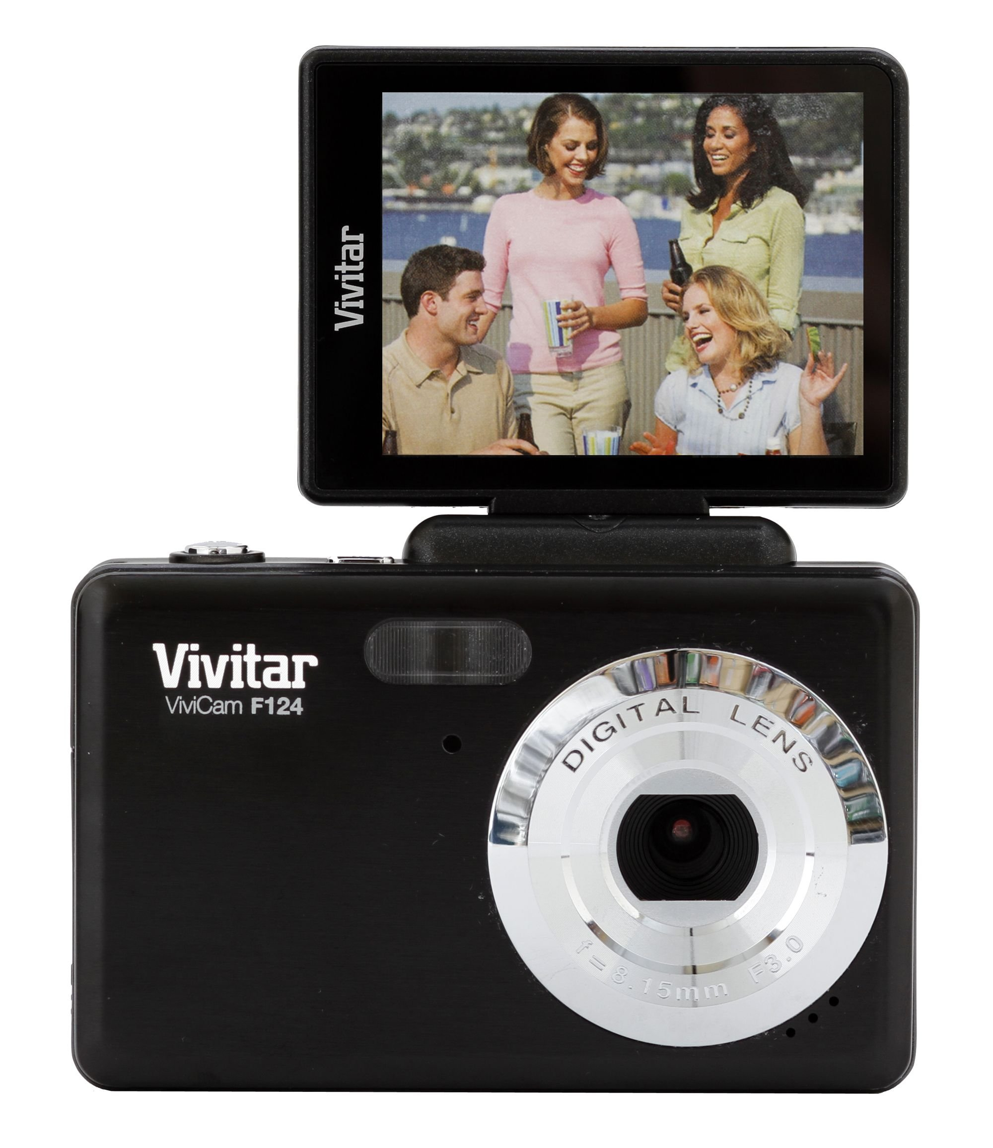 Vivitar 14MP Digital Camera w/Flip Screen - Color and Style May Vary by Vivitar
