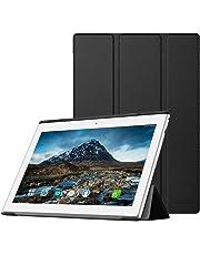 MoKo Funda para Lenovo Tab 4 10 - Premium Ultra Ligera Lightweight Shell Cover Case para Lenovo Tab 4 10 Pulgadas HD Tableta 2017 Release, Negro