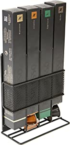 Mind Reader Nespresso Coffee Pod Storage, Black