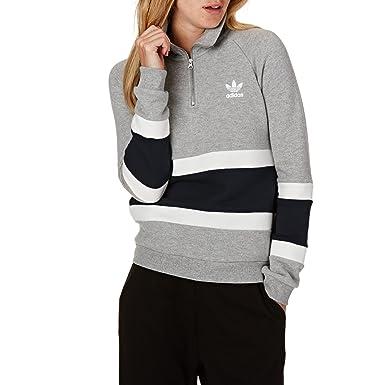 adidas Originals Damen Sweater Halfzip Sweater:
