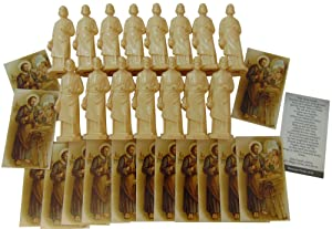 Westman Works Saint Joseph The Home Seller Realtor Kit Bulk Real Estate Selling Set, 15 Statues and Cards