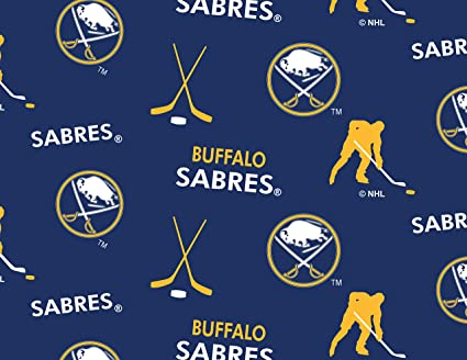 Buffalo Sabres Fleece Blanket Fabric