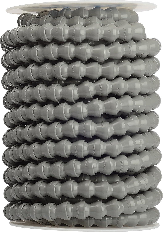 50 Length Gray Acetal Copolymer 1//2 Hose ID Coil Loc-Line Coolant Hose Component