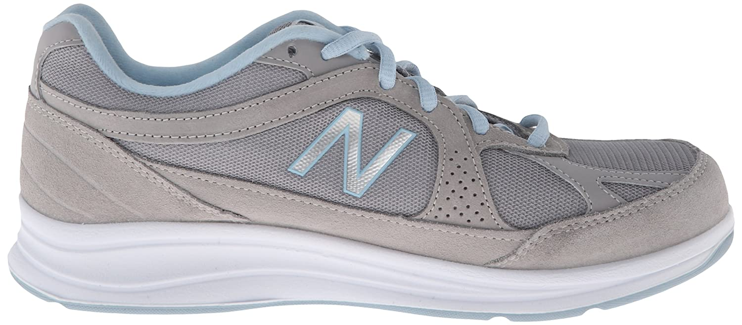 New Balance Women's WW877 2E Walking Shoe B00F5VEQ04 10 2E WW877 US|Silver 1a2024