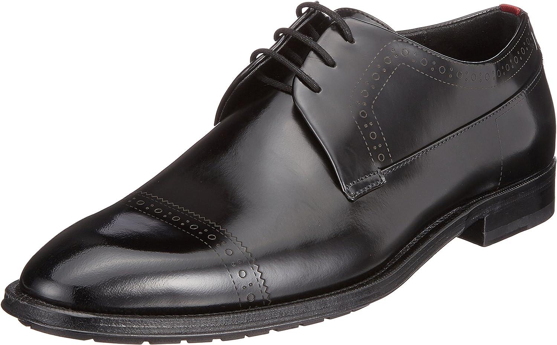 HUGO Allure_derb_boctbg, Zapatos de Cordones Derby para Hombre