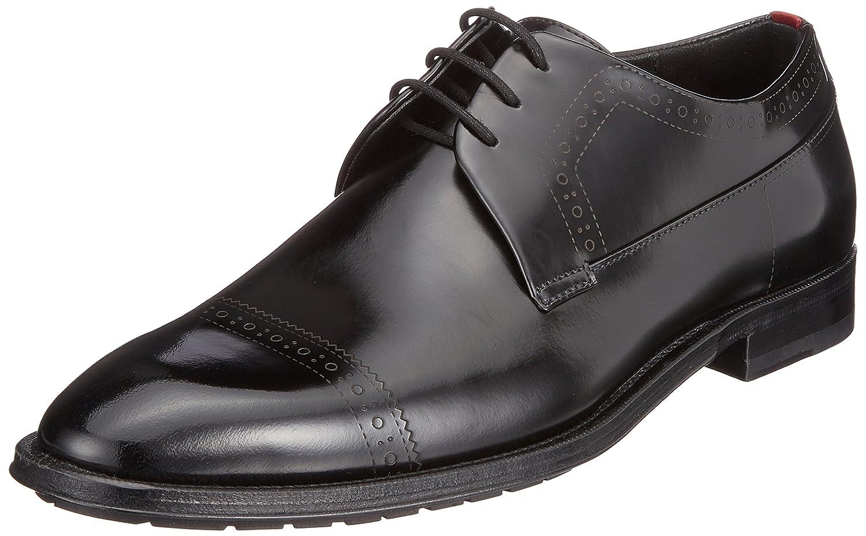 TALLA 44.5 EU. HUGO Allure_derb_boctbg, Zapatos de Cordones Derby para Hombre