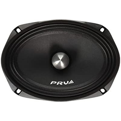 "PRV AUDIO 69MR500-PhP-4 6x9"" Mid Range 250 Watts RMS 4 Ohms Car Stereo 97dB 1.5"" VC Pro Speaker (Single): Home Audio & Theater"