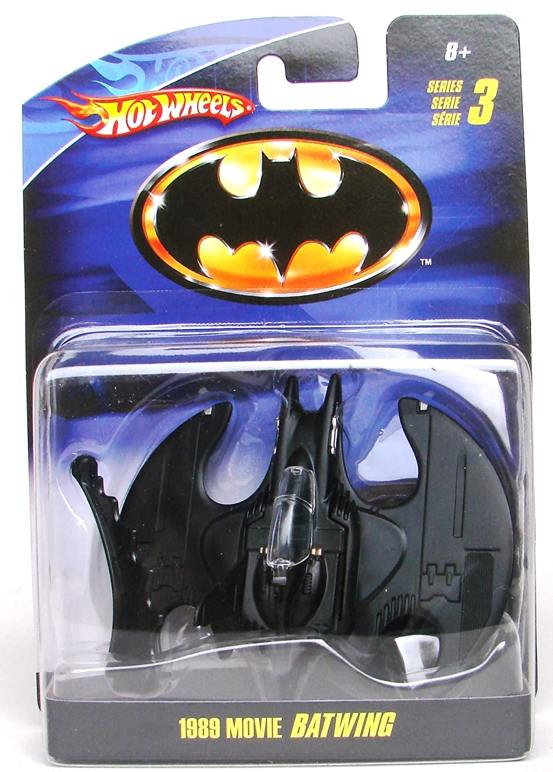 Batwing 1989 Batman 1:50 Hot Wheels