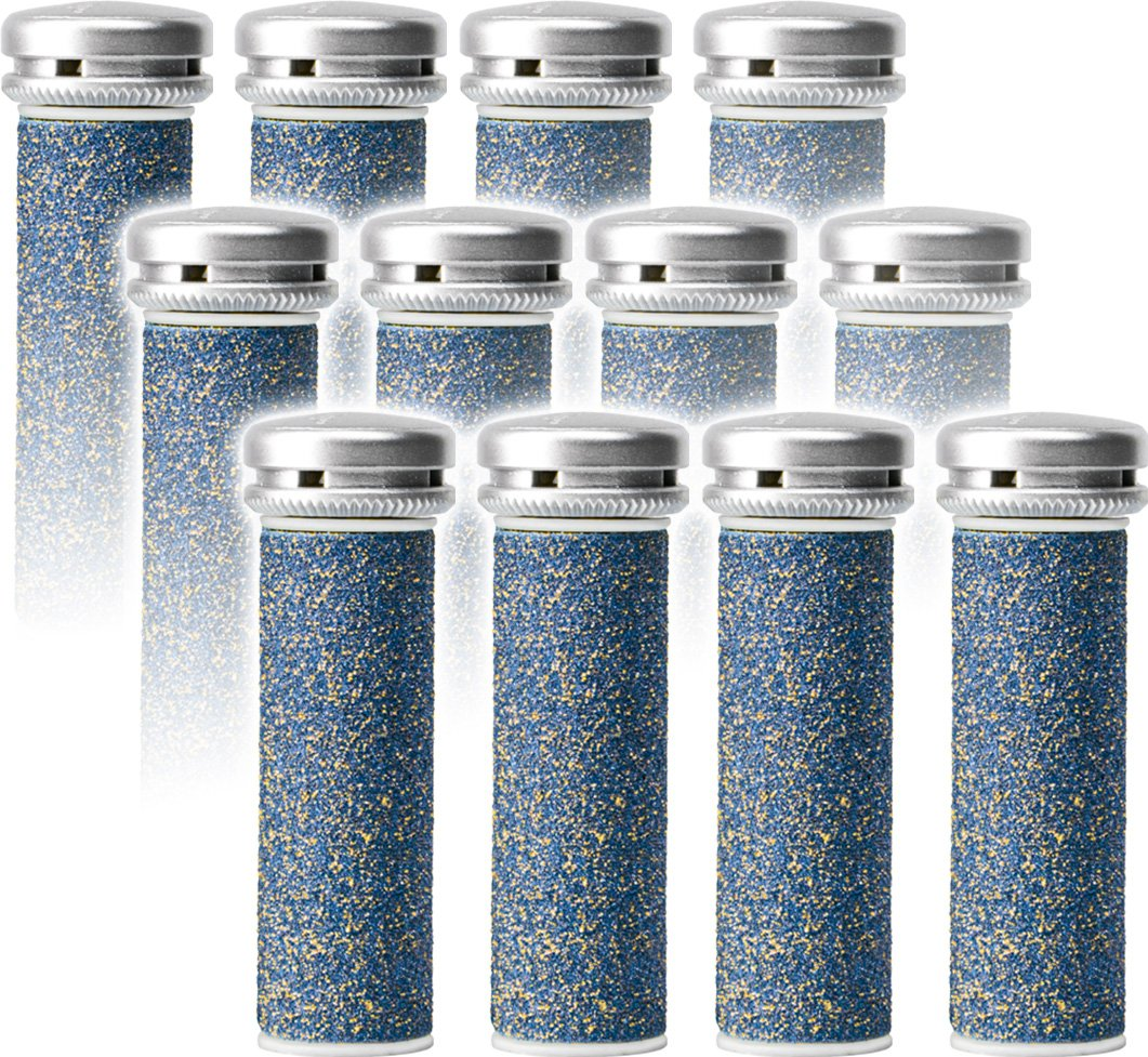 Emjoi Micro-Pedi Refill Rollers (Super Coarse) - Pack of 12 Pedi Active