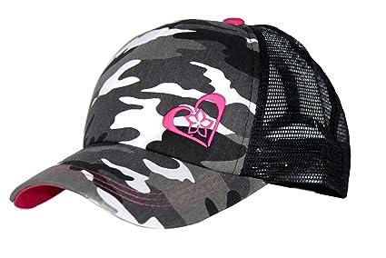 8c454c46 Amazon.com : Beth Marie Luxury Boutique Pink Camo Trucker Hat for ...