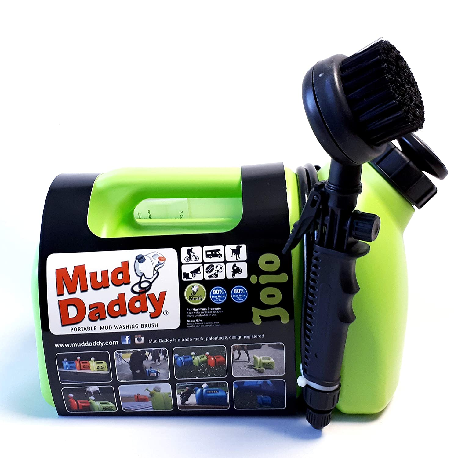 Mud Daddy 99000DS1GREEN - Cepillo de Limpieza para Barro (5 L), Color Verde: Amazon.es: Productos para mascotas
