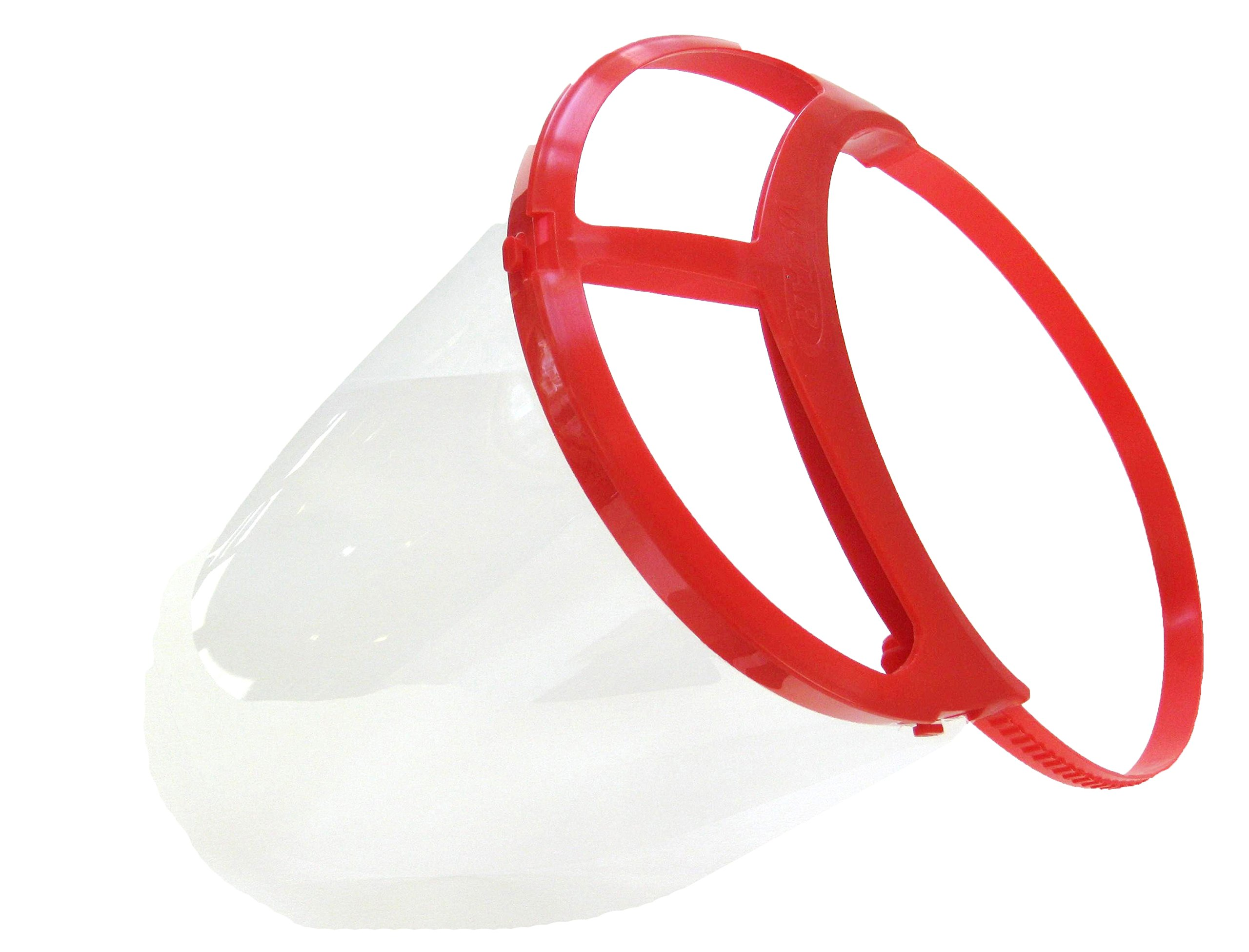 Bio-Mask Face Shield With 10 Shields (Red) by Bio-Mask (Image #1)