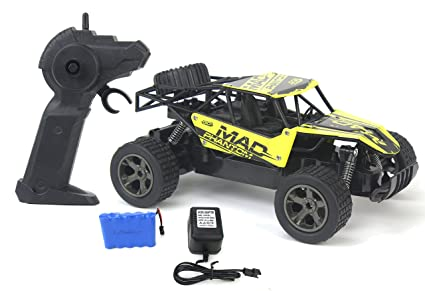 The King Cheetah Turbo Remote Control Toy Yellow Rally Buggy RC Car 2.4 GHz 1: