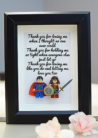 Superhero Marvel Lego Lego Minifigures Valentine Anniversary