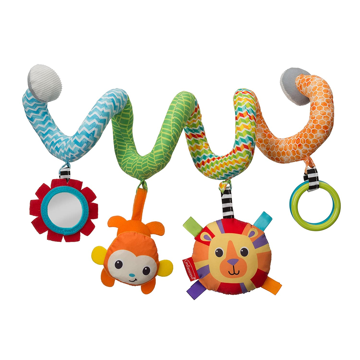 Blue 206-943Z Infantino Spiral Activity Toy