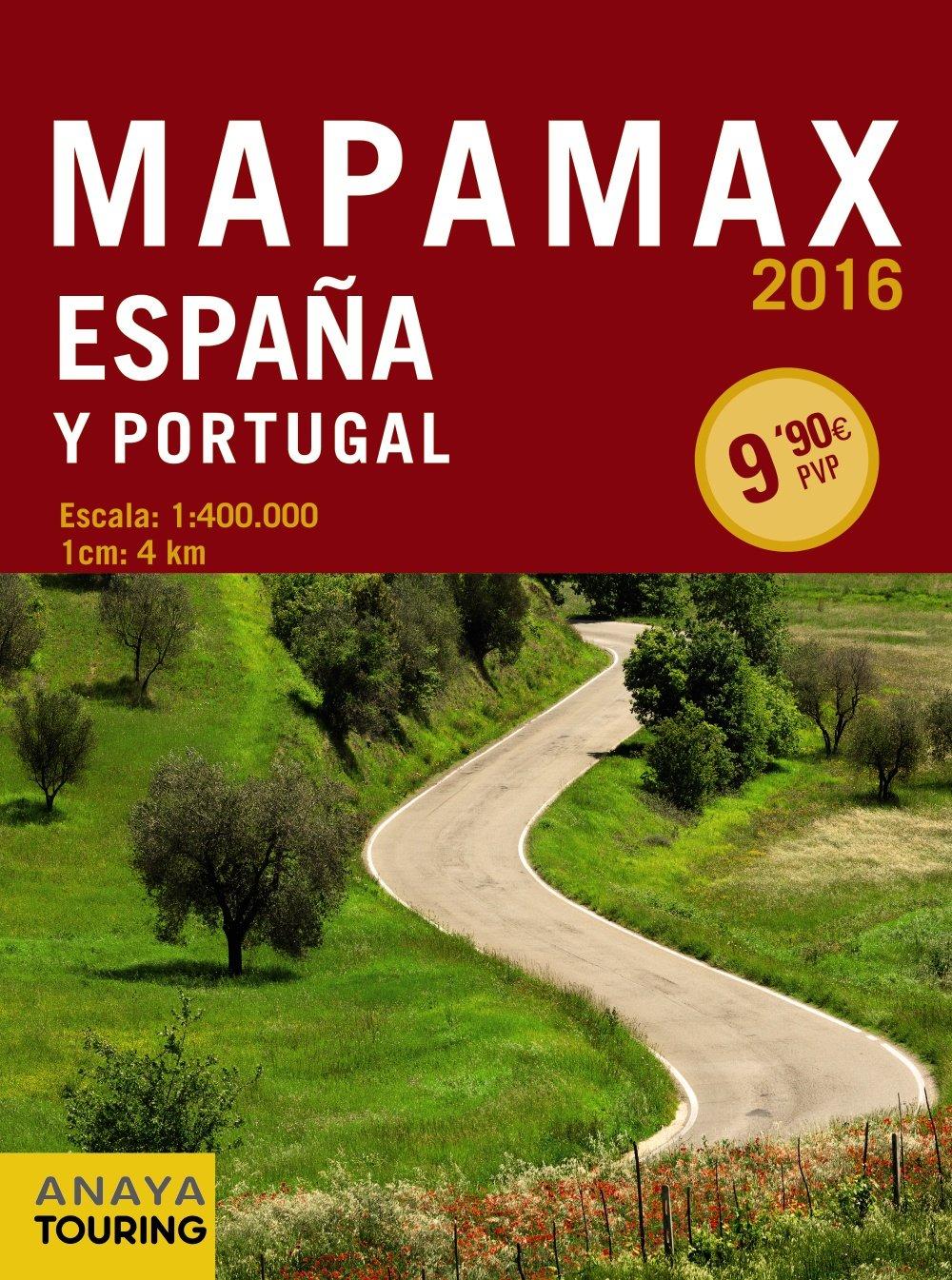 Mapamax (Mapa Touring): Amazon.es: Anaya Touring: Libros