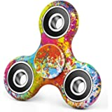 Elec3 Tri-Spinner Fidget Toy Hand Spinner Camouflage, Stress Reducer Relieve Anxiety and Boredom