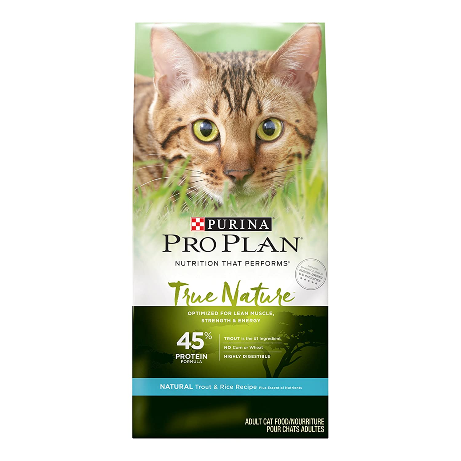 Purina Pro Plan TRUE NATURE Adult Trout & Rice Recipe Adult Dry Food - (1) 3.2 lb. Bag