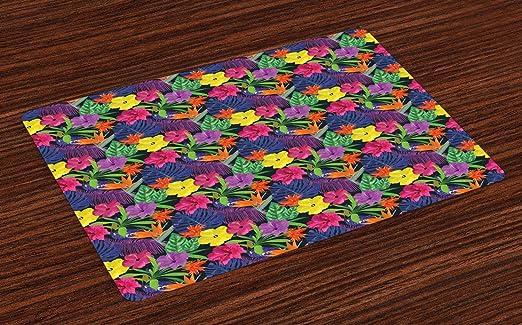 Colchonetas coloridas, plantas de ropa de cama de colores ...