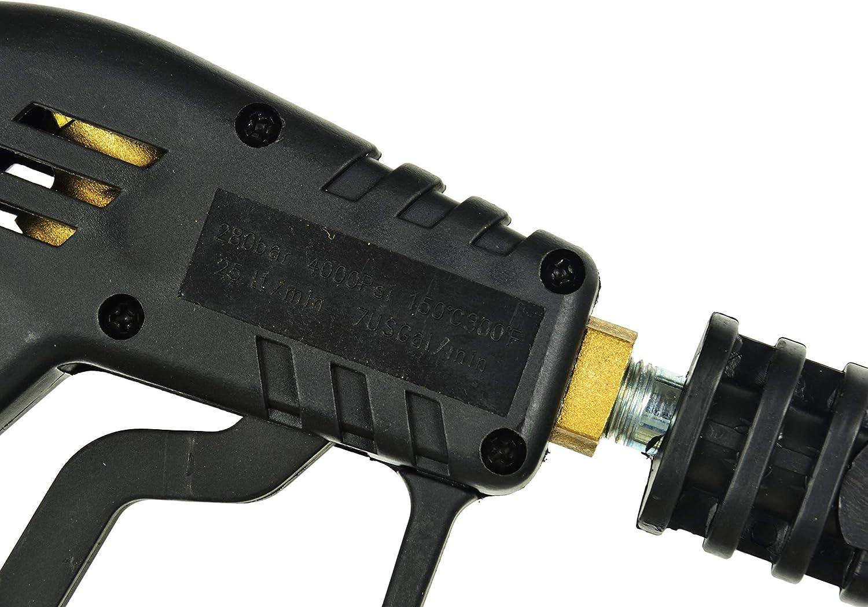 BSD Profesional Pistola y Lanza de Repuesto para Lavadora a Presi/ón Rosca M22 280bar Boquilla y Lanza de Repuesto para Hidrolimpiadora