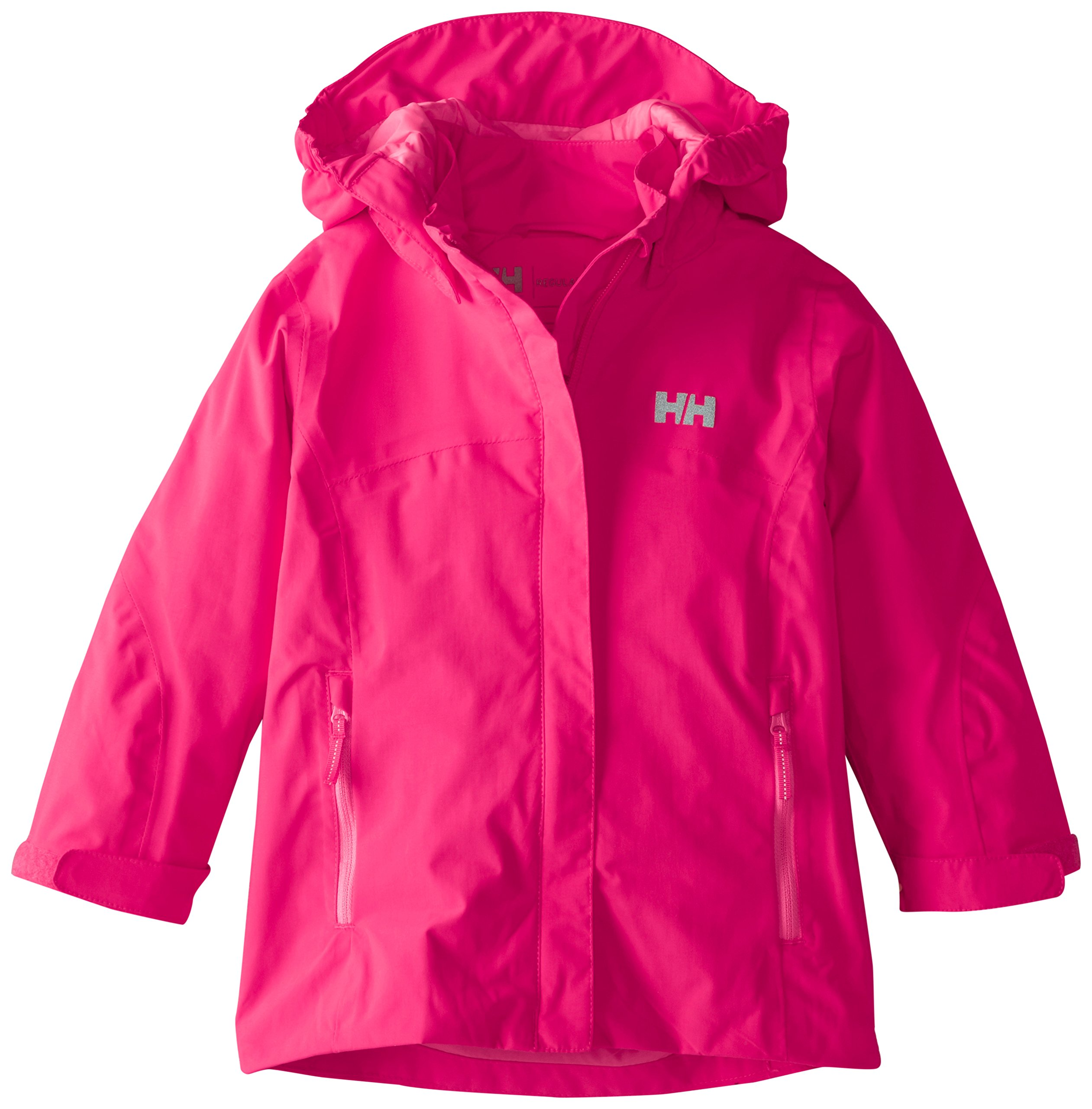 Helly Hansen Girls Freya Jacket, Magenta, 3