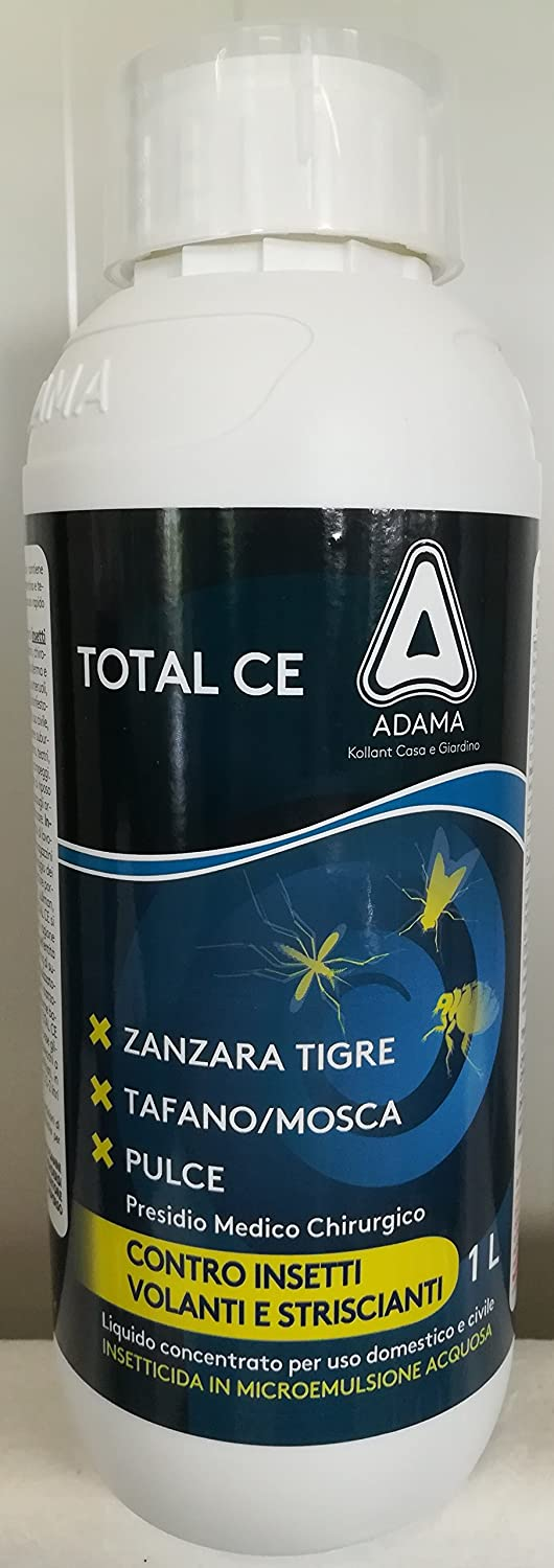 adama Total EC Identical to the permex 1 Lt Insecticide Beetles Awl Red Mosquito Tiger tafano ECC