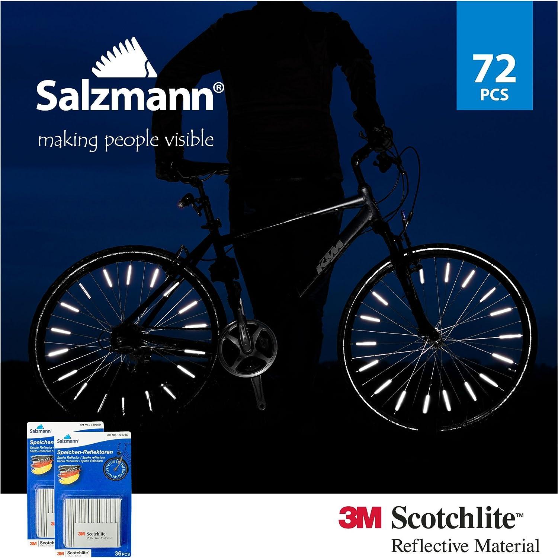 Speichenreflektoren für Fahrradspeichen, StVZO zugelassen (72 stück)
