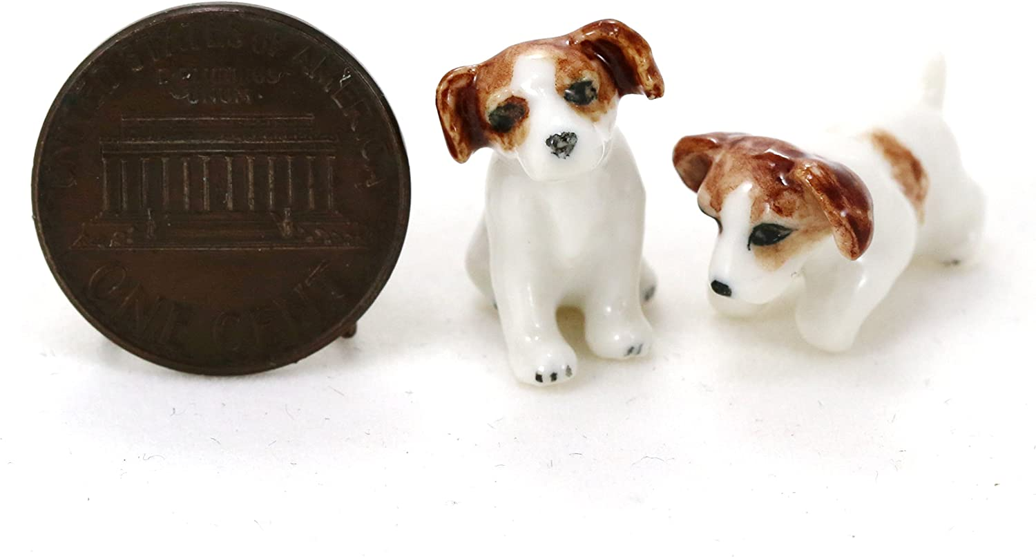 Life Like Figurine Statue Home Garden NEW Jack Russell Terrier Puppy Dog
