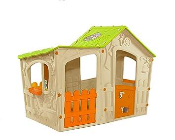 Keter - Casita infantil Magic Villa, Edad recomendada: 4 - 7 años: Amazon.es: Juguetes y juegos