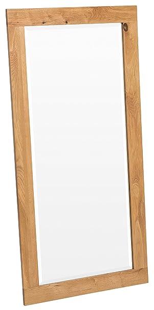 Waverly Oak - Oak Framed Mirror (WM1380680): Amazon.co.uk: Kitchen ...