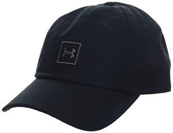 bd425e54673 Under Armour Men s Washed Cotton Cap Black     Graphite (001)