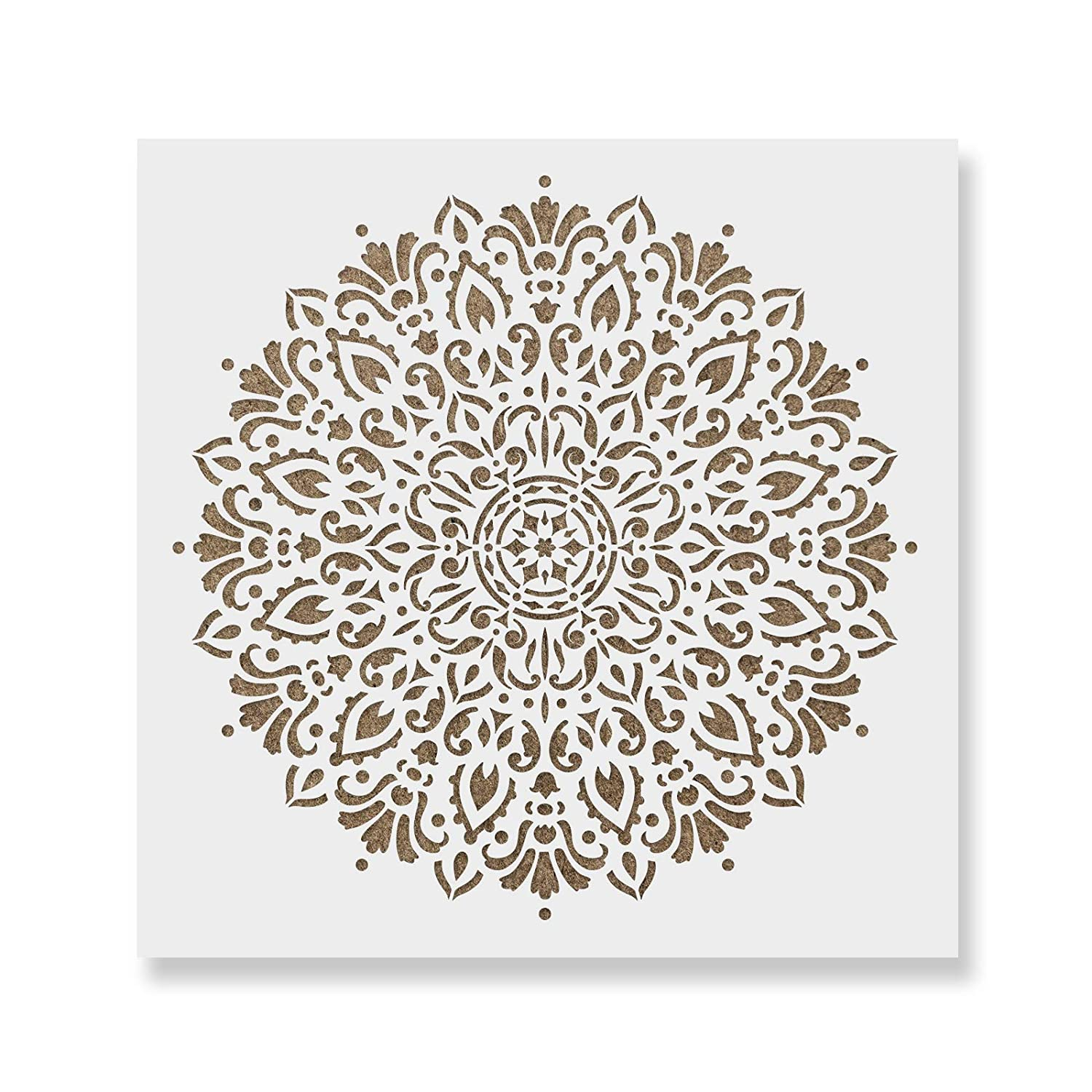 Harmony Mandala Stencil Template - Reusable Stencil for Painting Mandala  Designs - 46