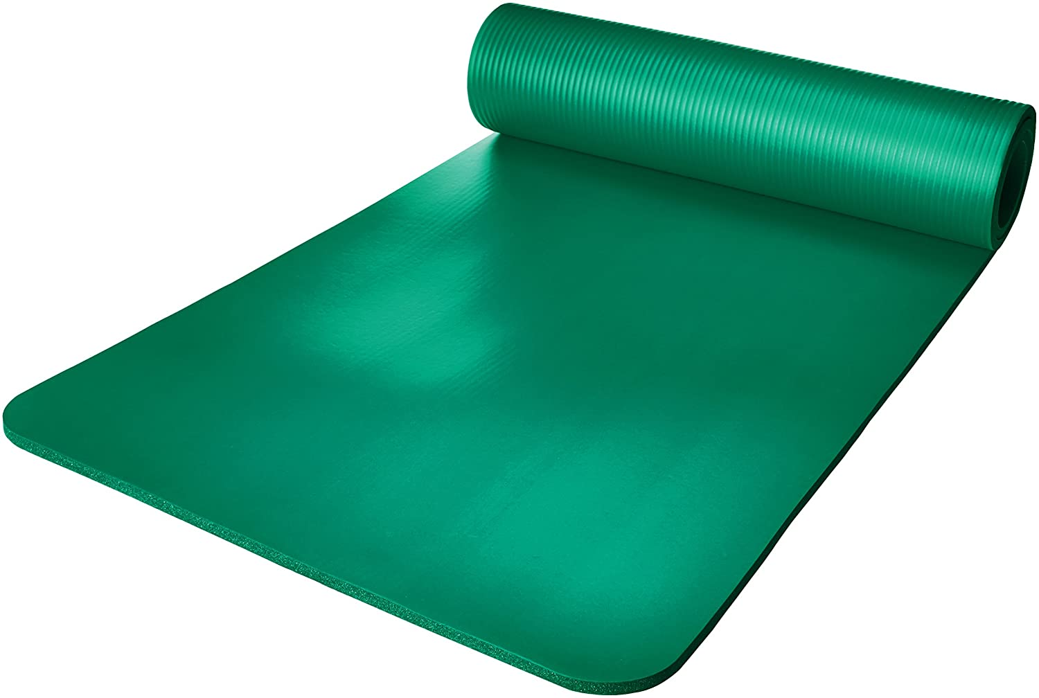 AmazonBasics 1/2-Inch Extra Thick Yoga and Exercise Mat with ...