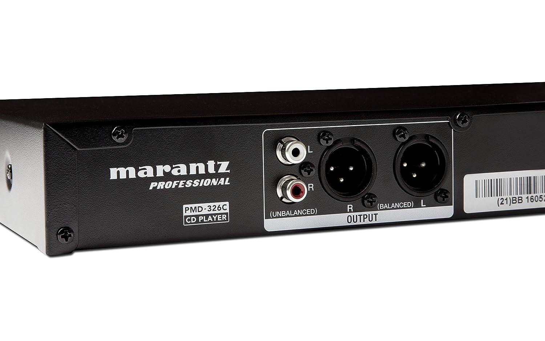 Marantz Professional PMD-326C - Reproductor de CD con mando a distancia, entradas USB y auxiliar de 3.5 mm: Amazon.es: Instrumentos musicales