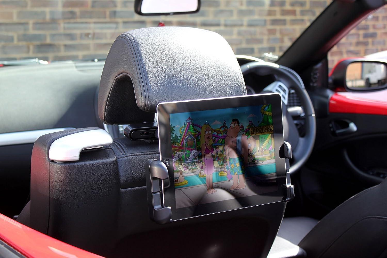 Souvent Support voiture d'appuie-tête 180° pour tablettes Samsung Galaxy  NB98