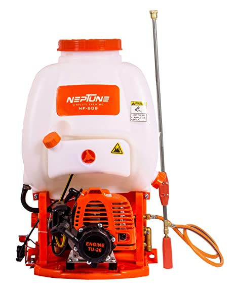 Neptune Knapsack/Backpack Agricultural/Garden Power Sprayer with 2 Stroke Engine -16 Liter (NF-608)