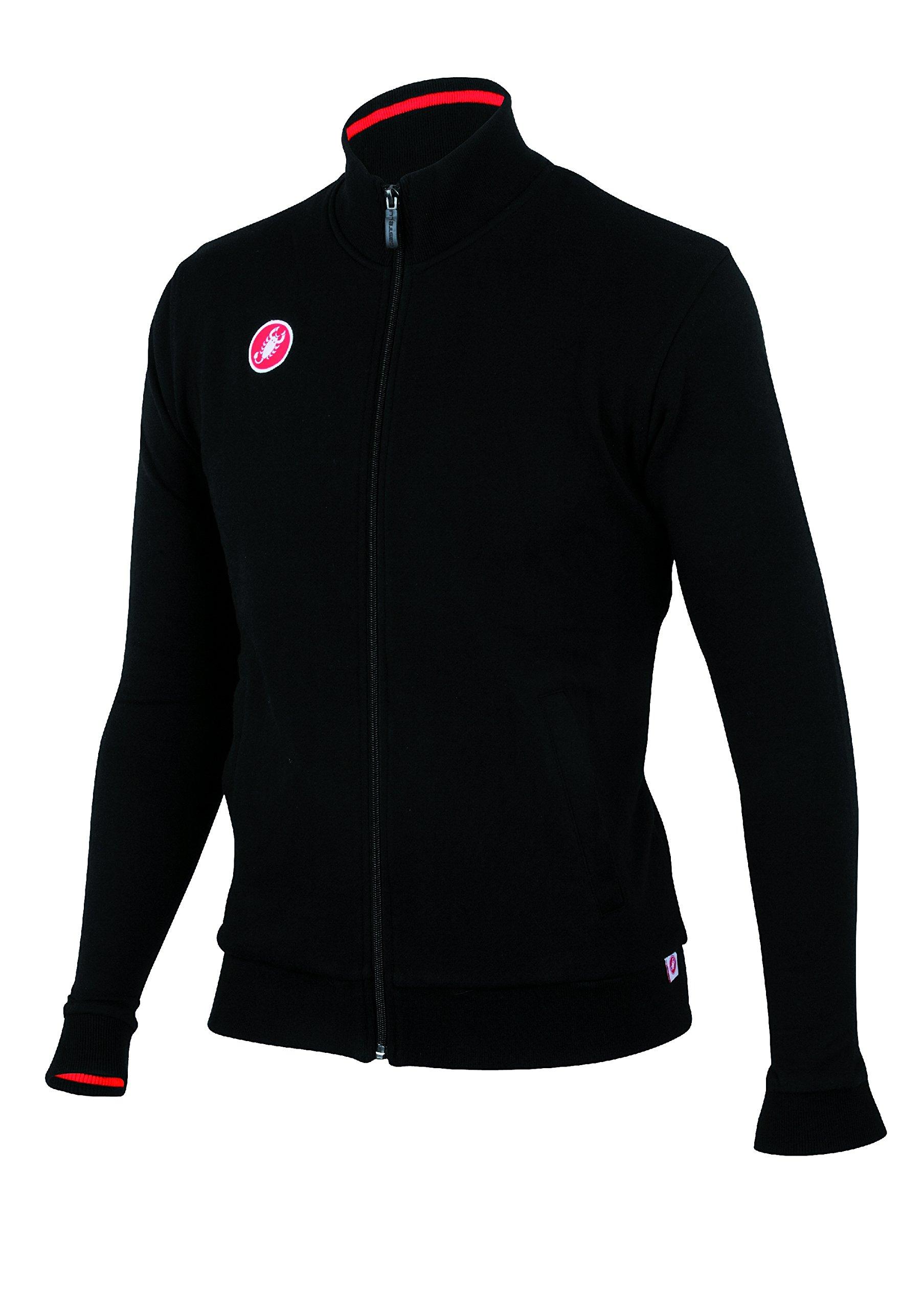 Castelli Race Day Track Jacket Black, Small - Men's