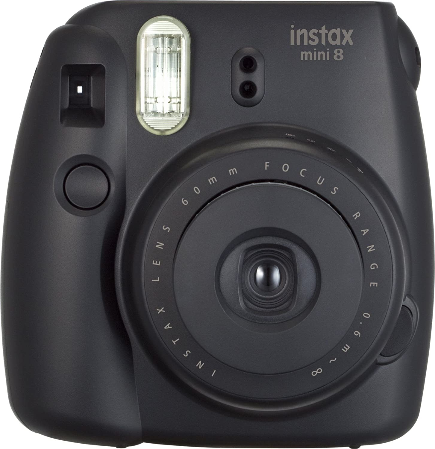 Fujifilm Instax Mini 8 Instant Film Camera (Black) (Discontinued by Manufacturer)