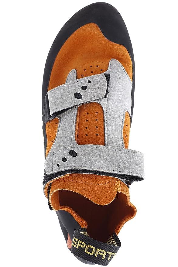 La Sportiva Jeckyl VS - Orange / Grey - EU 43.5 / UK 9.5 / US M 10.5 / US W  11.5 - Comfortable climbing shoe: Amazon.co.uk: Sports & Outdoors