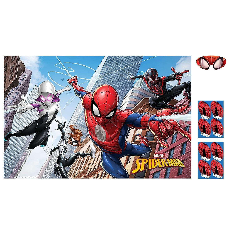 Amscan Spider-Man Webbed Wonder Party Game Party Favor 271860