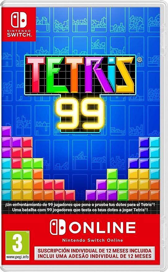 Tetris 99 + 12 meses Nintendo Switch Online: Nintendo: Amazon.es ...