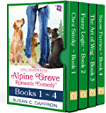 Love, Laughter, and Fur: Alpine Grove Romantic Comedy - Books 1-4 (An Alpine Grove Romantic Comedy)